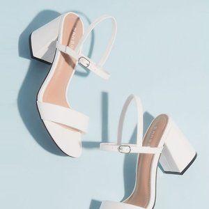 NEW🔥 Mary-Jane Slingback Med Heel Sandal Open Toe